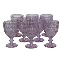 Fosteria Hermitaqe water goblets, set of 8