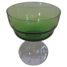 Carl Erickson saucer champagne/sherbet glass