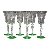 Tiffin Water Glasses, #15022-9, set of 6