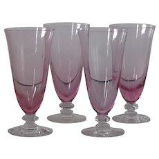 Tiffin Wistaria 17477 Juice glasses, set of 4