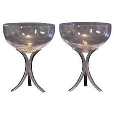 Fostoria Triumph Champagne Glasses, set of 2