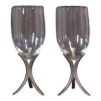 Fostoria Triumph Wine Glasses, set of 2
