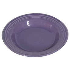 """HLC Fiesta Lilac 9"""" Rim Soup Bowl"""