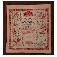 Vintage Alaska Flag Tablecloth