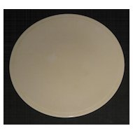 Kitchen Kraft Cake Plate in ultra rare Ivory finish