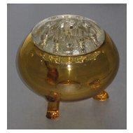 Viking Flowerlite in Amber