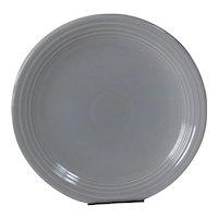 "HLC Fiesta 13"" Grey chop plate"