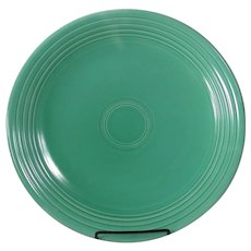 "HLC Fiesta 13"" Green chop plate"
