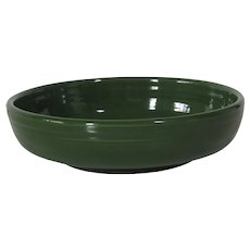 Homer Laughlin Fiesta Dessert Bowl in Forest Green