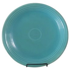"""HLC Fiesta 13"""" Turquoise Chop Plate"""
