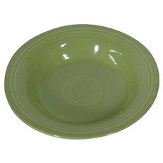 HLC Fiesta chartreuse deep plate