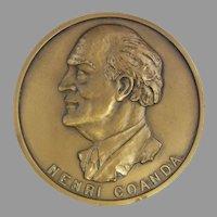 Henri Coanda Medal 60 Years After the First Jet Flight 1910