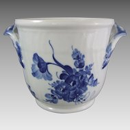 Royal Copenhagen Porcelain Blue Flowers Blaue Blume Wine Cooler
