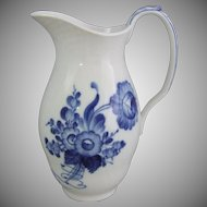 Royal Copenhagen Danish Porcelain Blue Flowers Blaue Blume  Milk Jug Pitcher 443