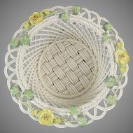Belleek Celtic Charm Basket