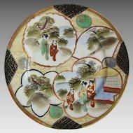7 set Japanese Kutani Porcelain Geisha Ware Plate
