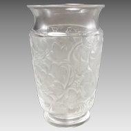 Lalique Deauville Crystal Vase