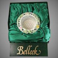 Belleek Summer Rose Basket 2050