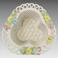 Belleek Woodland Bouquet Basket 2765