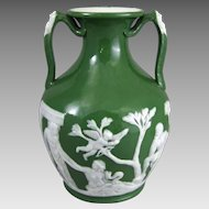 Victorian Copy of the AD5 – AD25 Roman Cameo Glass Portland Vase