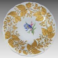 Meissen Porcelain Gold Gilt Enamel Bowl
