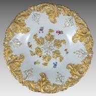 Meissen Porcelain Center Bowl