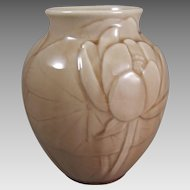 Rookwood 6833 Lotus Water Lily Vase C1948