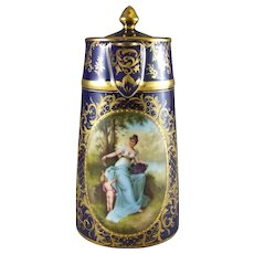 Royal Vienna Porcelain Chocolate Pot