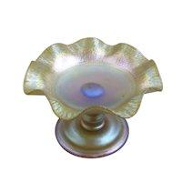 Tiffany Favrile Glass Tazza