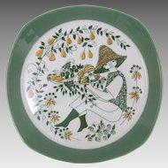 Figgjo Flint Norway Sicilia Ceramic Plate