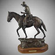 U.S. Marshals On the Long Trail to Justice by Dave Kulczyk Bronze Sculpture