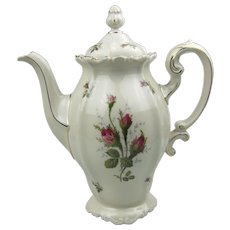 Rosenthal Pompadour Moss Rose Tall Coffee Pot