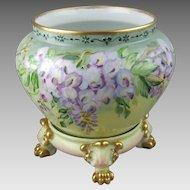 Limoges Jardiniere JPL Jean Pouyat Antique French Porcelain