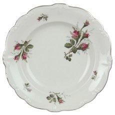 Rosenthal Pompadour Moss Rose 8.5 inch Porcelain Rim Soup Bowl