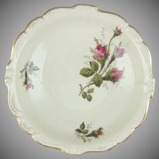 Rosenthal Pompadour Moss Rose 5.25 Porcelain Dessert Bowl
