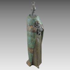 Lladro Porcelain Figure of Mother and Child Cuna De La Vida Cradle of Life
