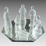 Lalique Nativity Set