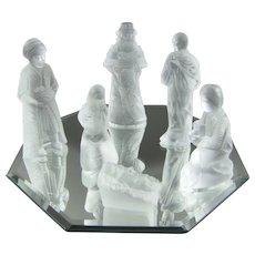 Lalique Nativity Set