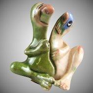 Hagen Renaker Potteries Little Horribles Split Personality 429