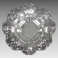 Francis I Sterling Silver Nut Dish X559 by Reed &  Barton