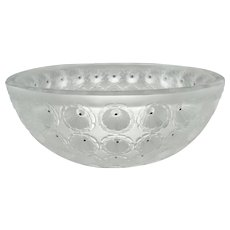 Lalique Crystal Nemours 11010 Bowl
