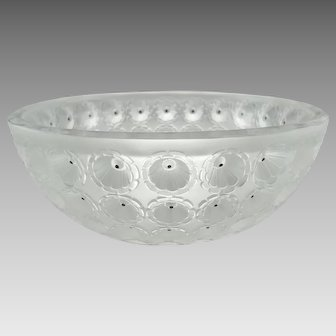 Lalique Crystal Nemours 11010 Bowl