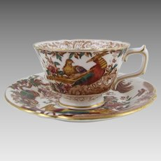 Royal Crown Derby Old Avesbury Cup Saucer Set