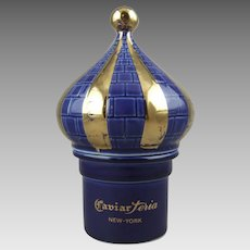 Caviarteria New York Limoges Porcelain France Caviar Jar