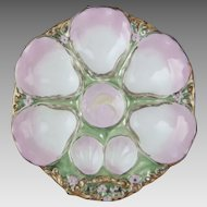 Antique Porcelain Oyster Plate C.T. Germany C. Tielsch & Co.