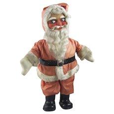 Vintage Cloth Face Santa Claus Doll