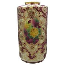 Nippon Porcelain Vase