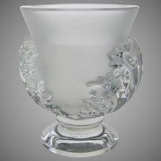 Lalique Crystal Saint Cloud Vase 12229