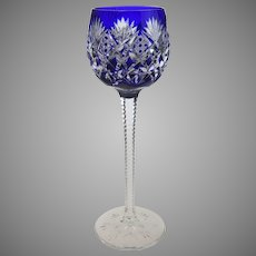 Saint Louis St. Louis Cut Crystal Florence Wine Hock 9.5 Inches