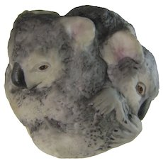 Boehm Porcelain Koalas in the Round Figural Group